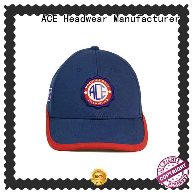 ACE leather best mens baseball caps customization for fashion