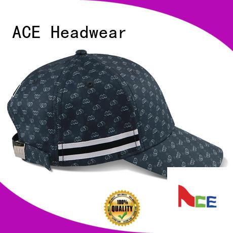 ACE latest yellow baseball cap bulk production for beauty