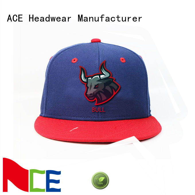 ACE solid mesh popular snapback caps OEM for beauty
