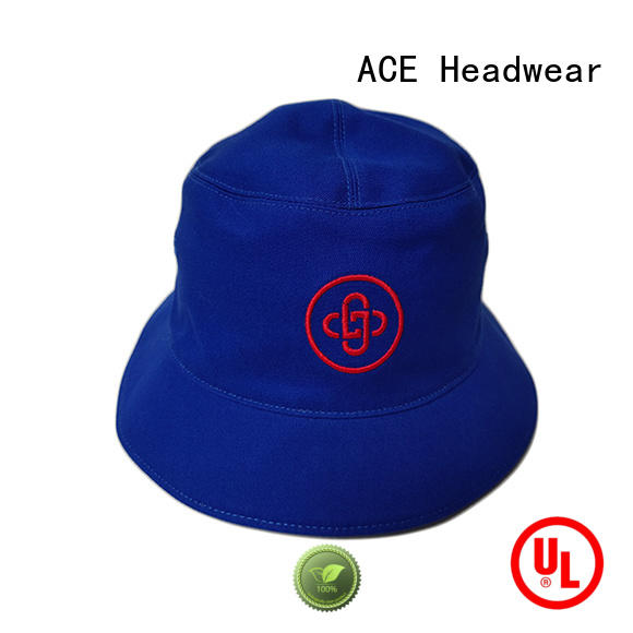 ACE funky white bucket hat OEM for beauty