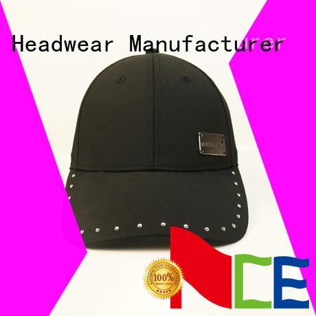 ACE printing yellow baseball cap bulk production for fashion