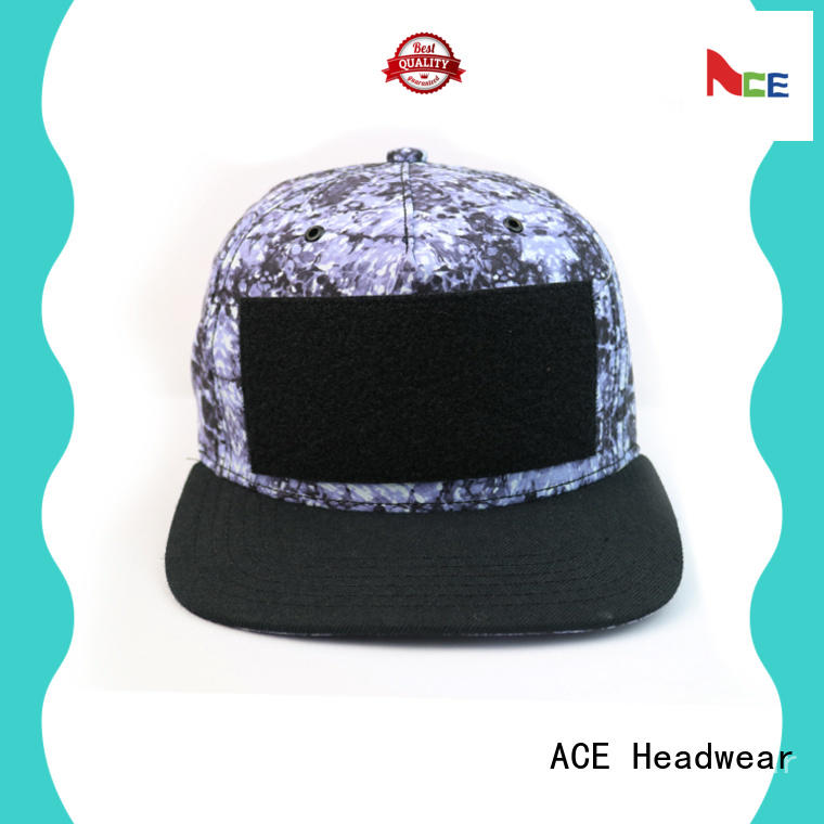 ACE at discount black snapback hat for wholesale for fashion