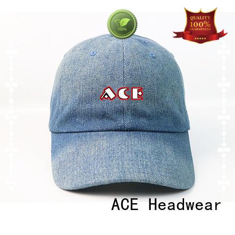ACE baseball sports baseball cap free sample for baseball fans