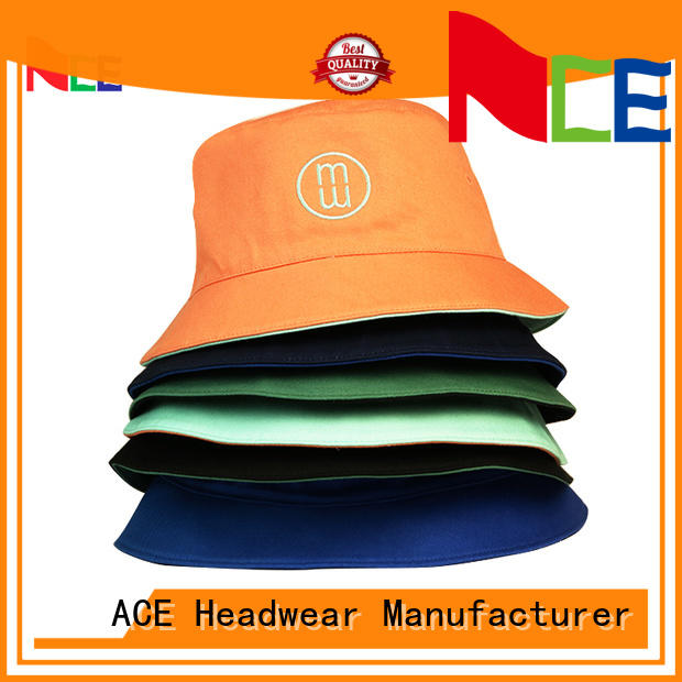 portable white bucket hat ace for wholesale for fashion