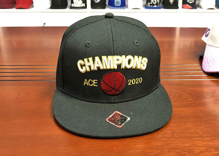 ACE brown blank snapback hats bulk production for fashion-1