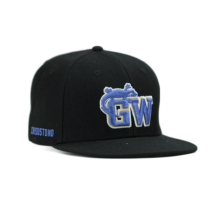 ACE tiger blue snapback hat free sample for fashion-1