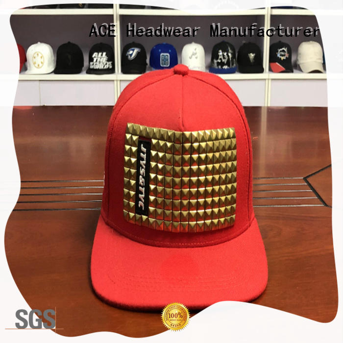 Breathable white snapback hat plant for wholesale for beauty