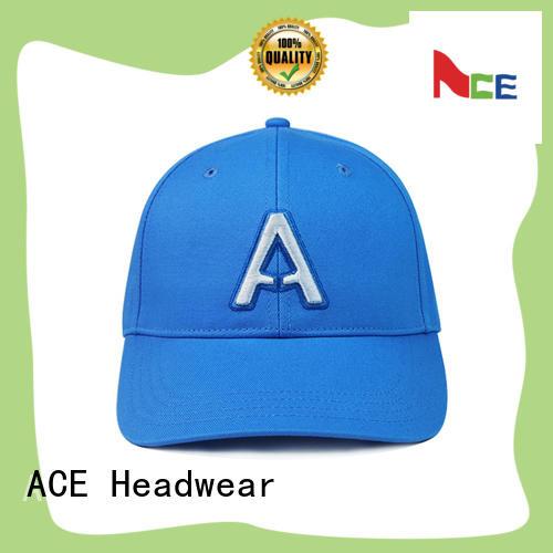 ACE funky red baseball cap OEM for baseball fans