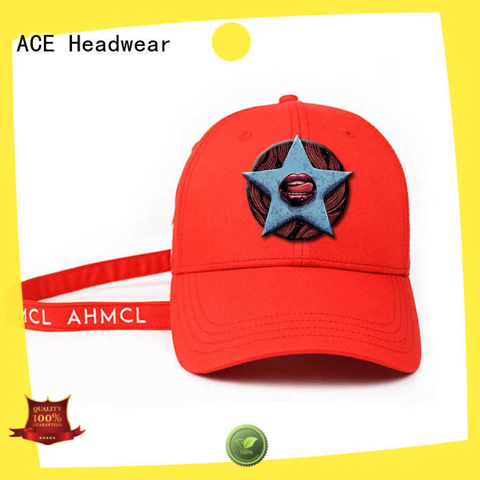 ACE string wholesale baseball caps supplier for fashion