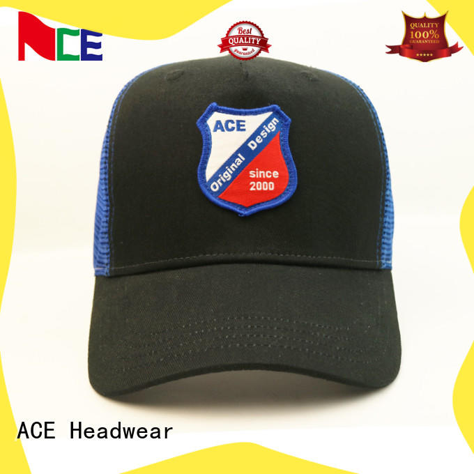 durable mens trucker caps yellow OEM for fashion