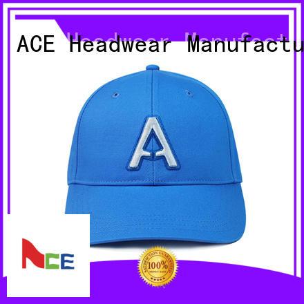 ACE flower red baseball cap bulk production for baseball fans