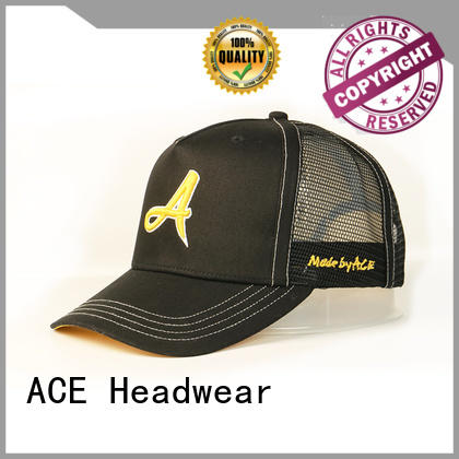 ACE high-quality wholesale trucker hats bulk production for Trucker