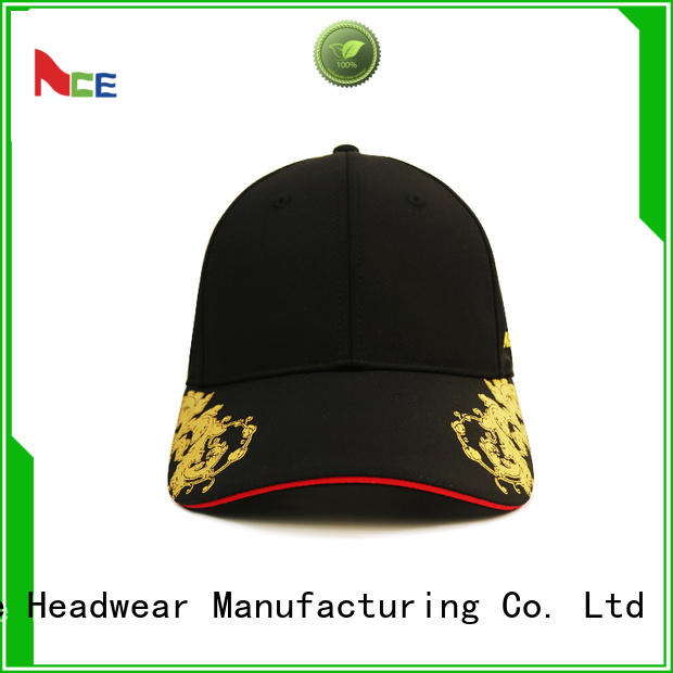 ACE latest embroidered baseball caps customization for baseball fans
