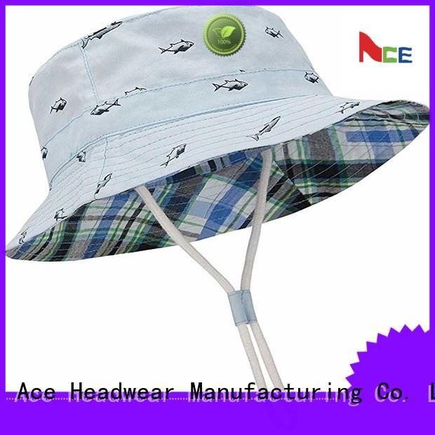 ACE 18sscap02 custom bucket hats free sample for beauty