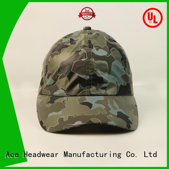 ACE flowers sports baseball cap bulk production for fashion