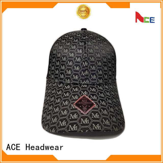 ACE high-quality logo baseball cap get quote for beauty