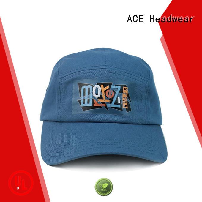ACE girl green baseball cap ODM for beauty