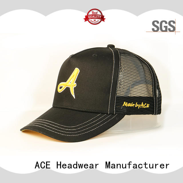 ACE durable mens trucker caps OEM for beauty