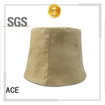ACE 100 blue bucket hat ODM for fashion