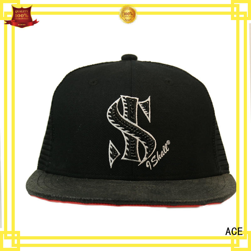 ACE original womens trucker cap OEM for fashion