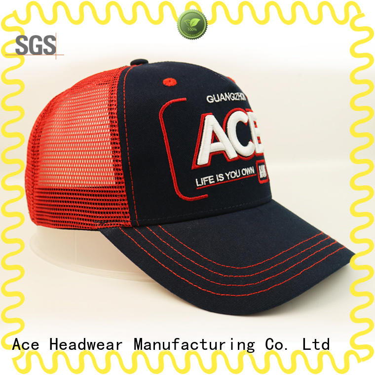 ACE latest trucker cap design get quote for fashion