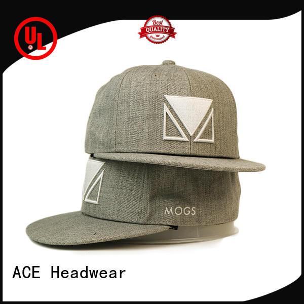 ACE quality womens snapback hats OEM for fashion