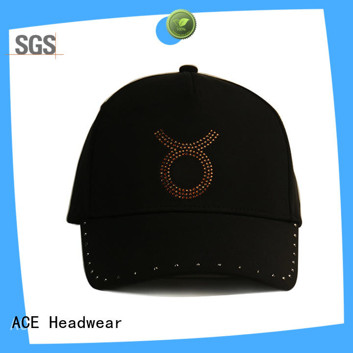 ACE adjustable embroidered baseball caps get quote for beauty