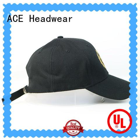 ACE portable baseball caps for men ODM for baseball fans