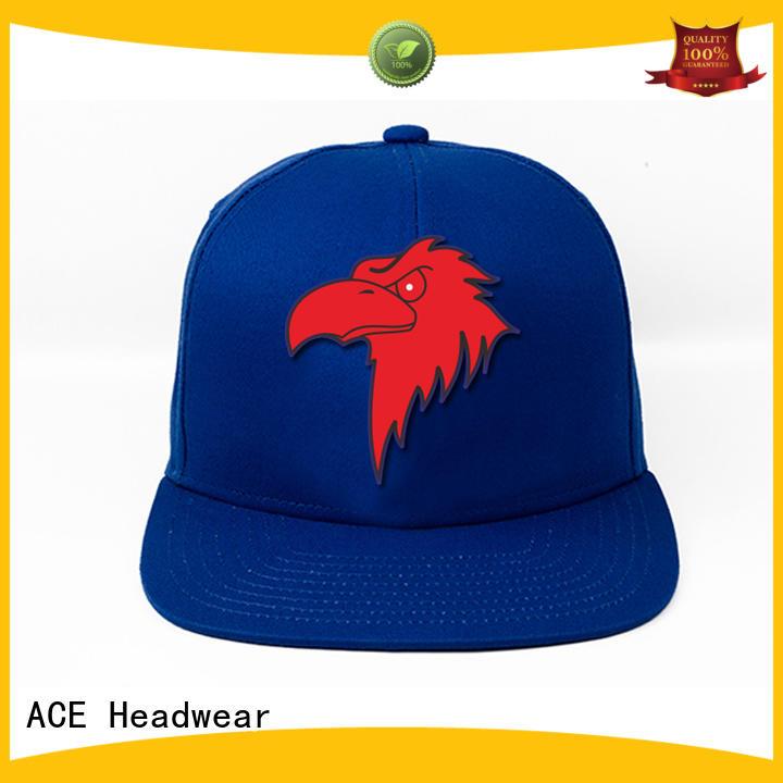 ACE customized custom snapback hats buy now for beauty