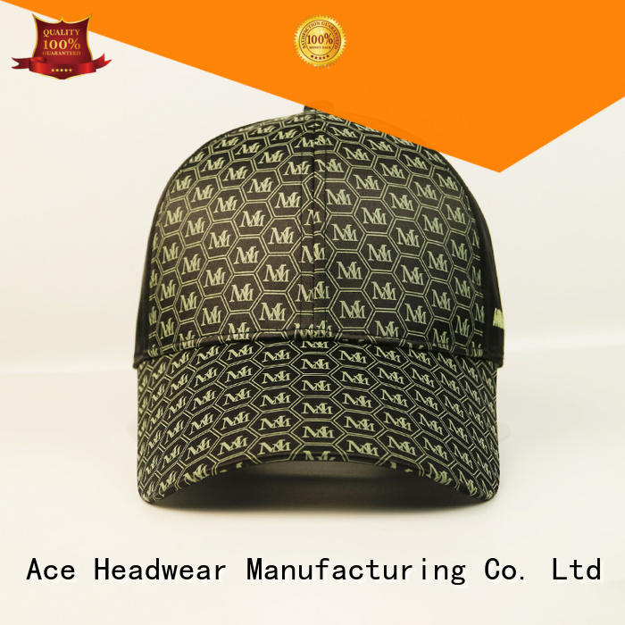 durable embroidered baseball cap printing OEM for fashion