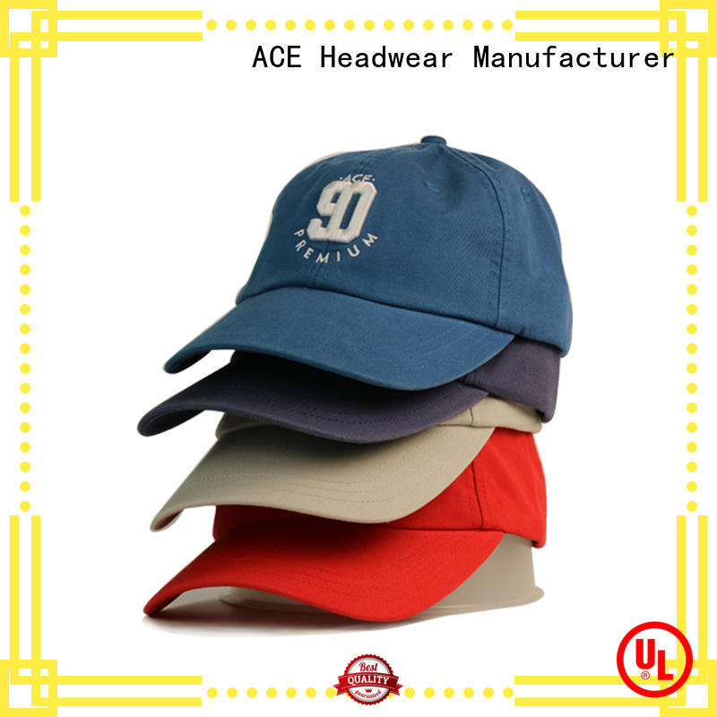 ACE latest types of baseball caps supplier for beauty
