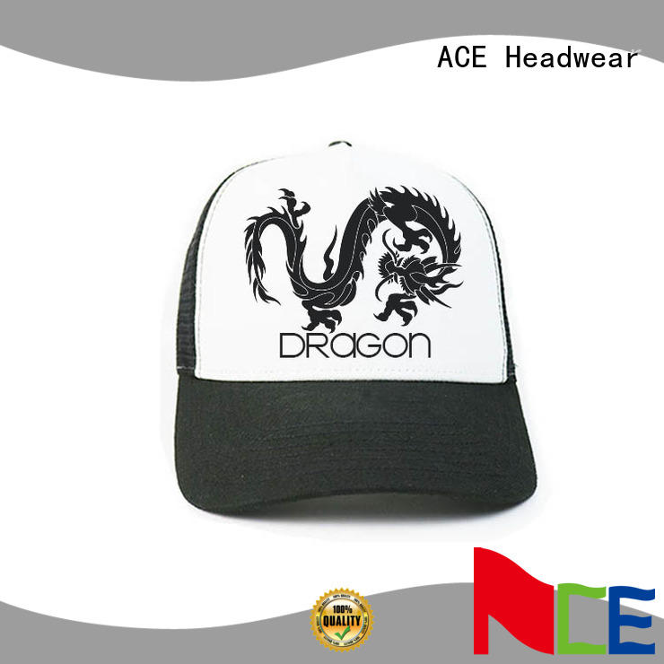 at discount trucker caps embroidery words supplier for beauty