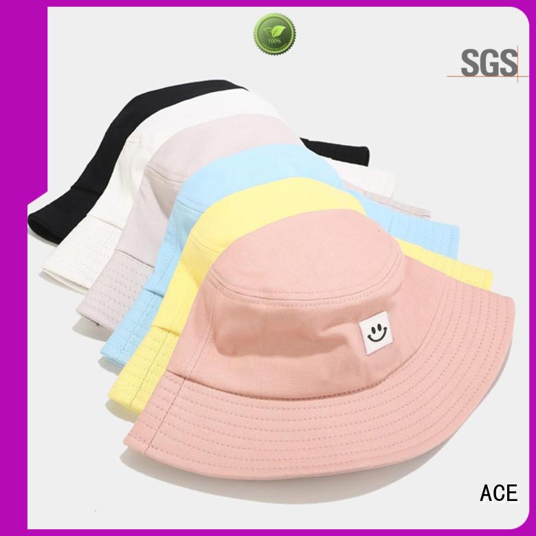 durable red bucket hat headwear supplier for beauty
