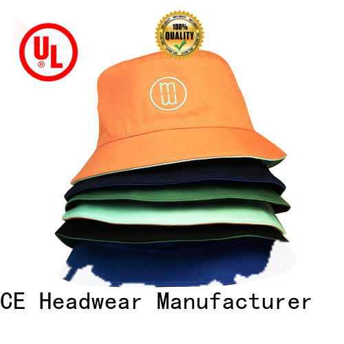 solid mesh white bucket hat ace OEM for fashion