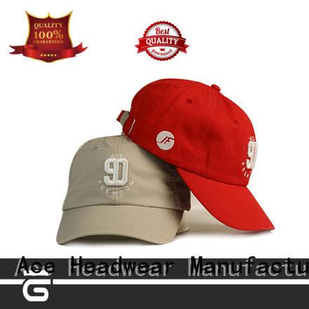 ACE girl fitted baseball caps free sample for baseball fans