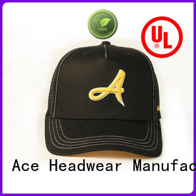 ACE Breathable blank trucker caps get quote for Trucker
