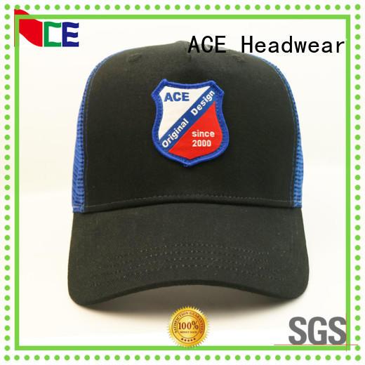 ACE durable trucker cap design ODM for Trucker