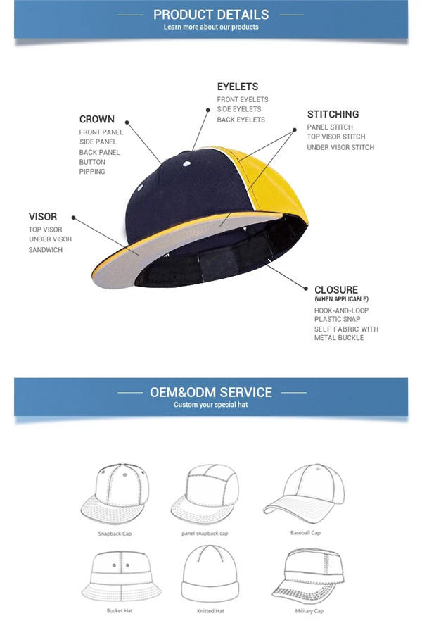 latest grey snapback hat yellow supplier for beauty-3