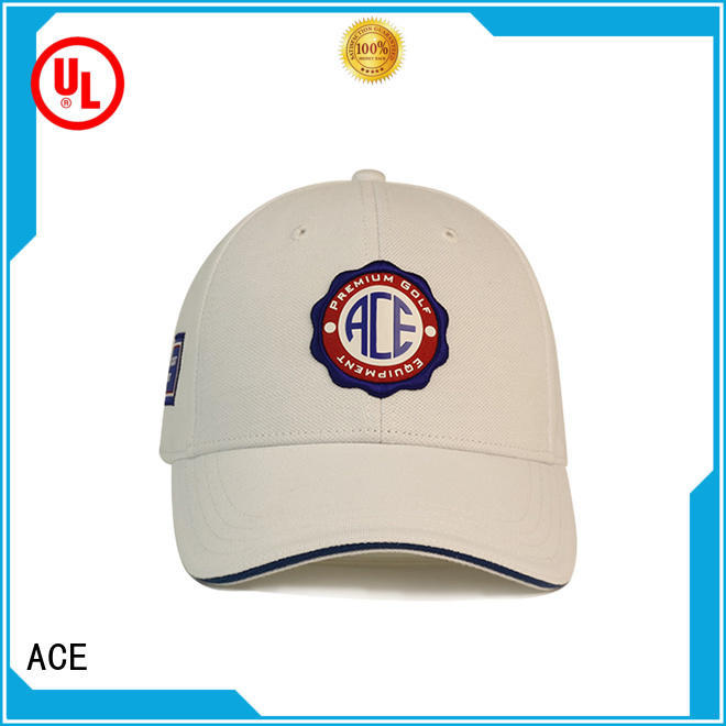 ACE latest plain baseball caps for wholesale for fashion