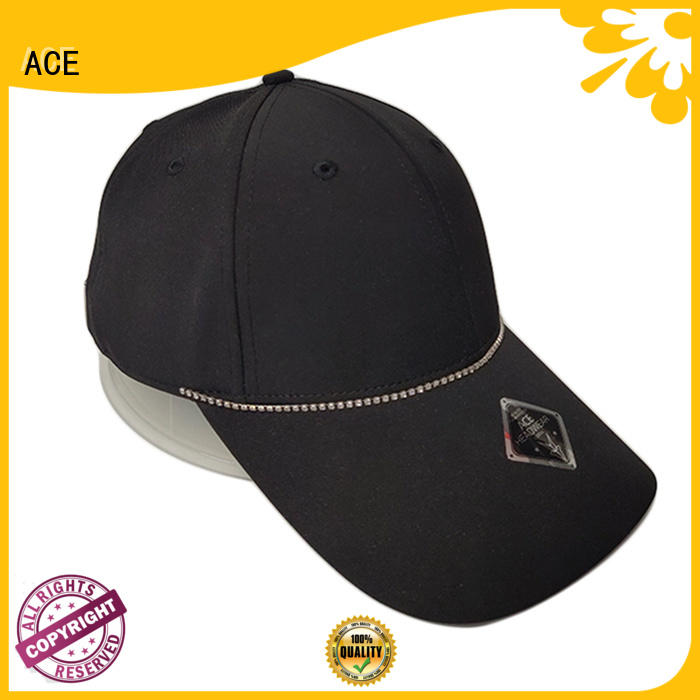 ACE rabbit fitted baseball caps supplier for beauty
