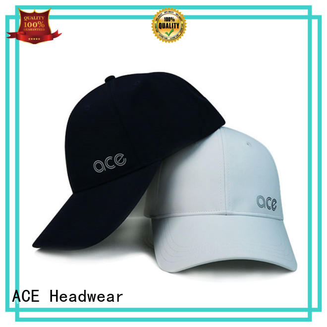 ACE collection plain baseball caps free sample for beauty