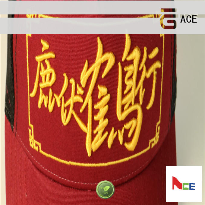 ACE custom hats