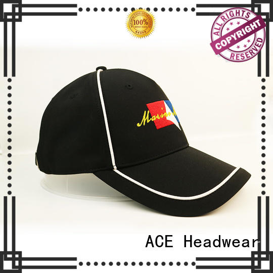 ACE fabric types of baseball caps customization for baseball fans