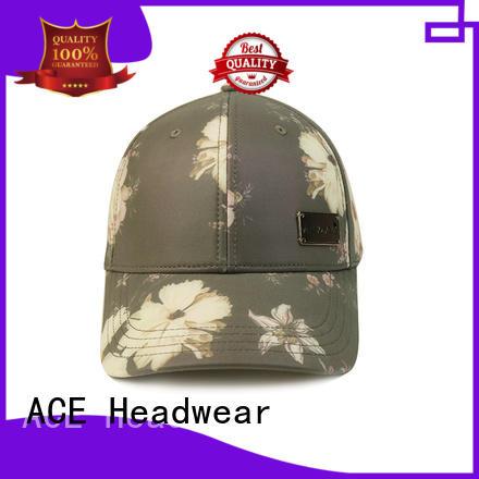 ACE on-sale plain baseball caps ODM for beauty