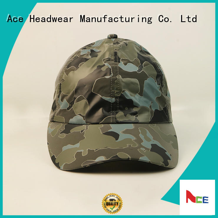 ACE Breathable custom baseball caps ODM for fashion