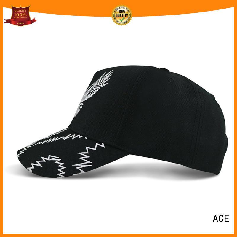 ACE portable wholesale baseball caps bulk production for fashion