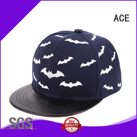 ACE on-sale youth snapback hats OEM for fashion