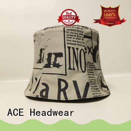 ACE 100 white bucket hat ODM for beauty