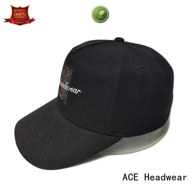 ACE portable white baseball cap for wholesale for baseball fans