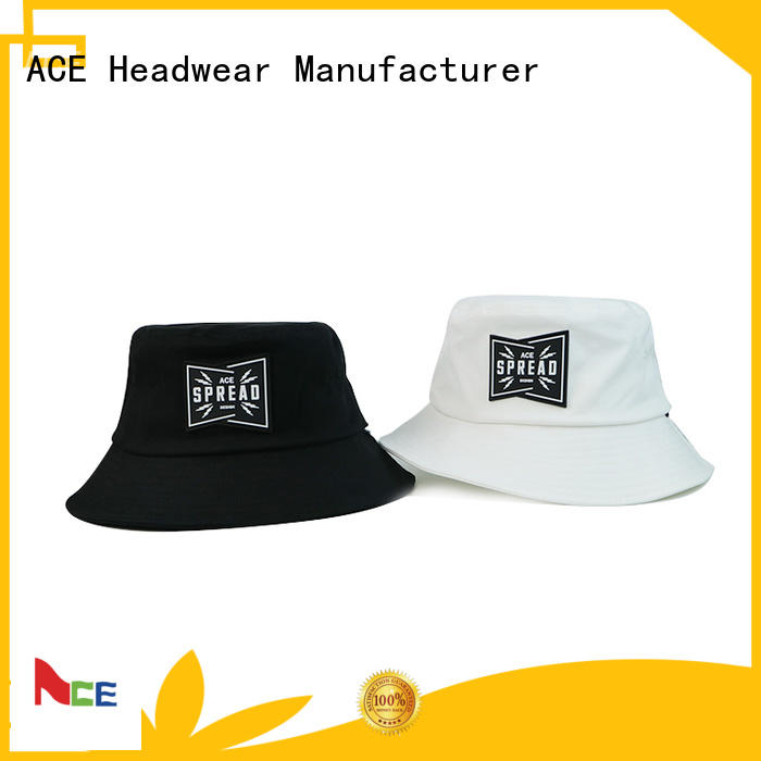 ACE at discount blue bucket hat customization for beauty